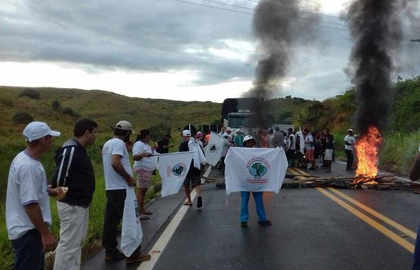 Trabalhadores atingidos foram às ruas em defesa da aposentadoria e da CLT