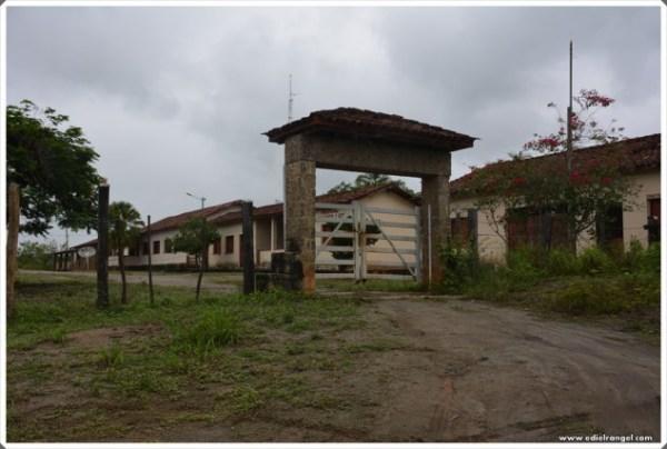 Sede do quilombo fica fechando a correntes por receio dos moradores