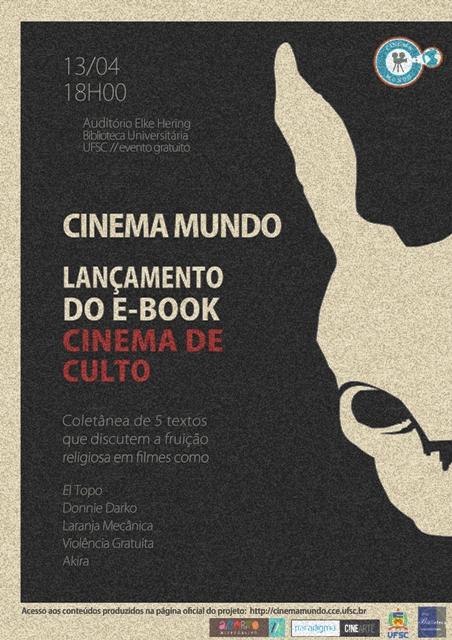 Projeto de extensão Cinema Mundo lança segundo livro eletrônico