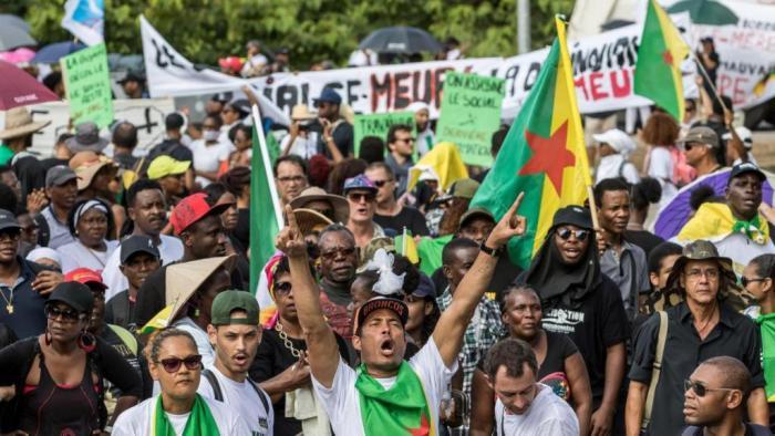 As manifestações na Guiana Francesa vistas desde dentro