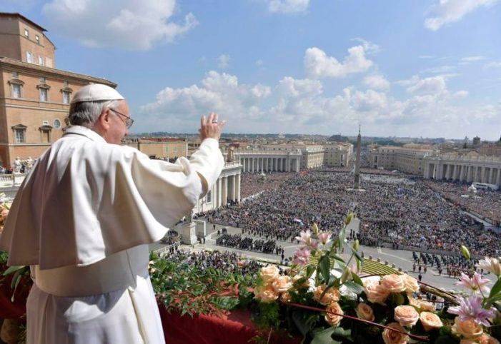 Papa fala de novas formas de escravidão