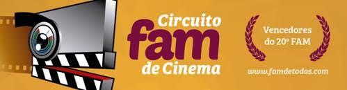 Abertas as inscrições para o Circuito FAM de Cinema