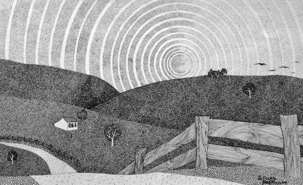 Tralharia expõe desenhos de Juliana Hoffmann a partir de 11 de maio