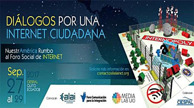 """Equador será sede do fórum """"Diálogos por uma internet cidadã"""""""