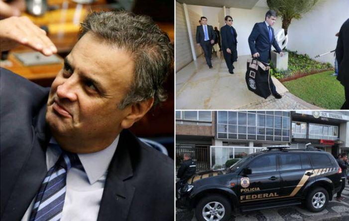 Fachin nega pedido de prisão para Aécio Neves