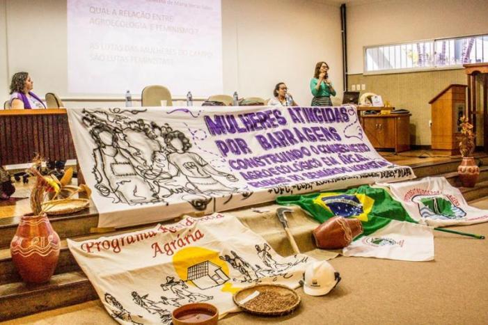 No CE, atingidas por barragens debatem feminismo e agroecologia
