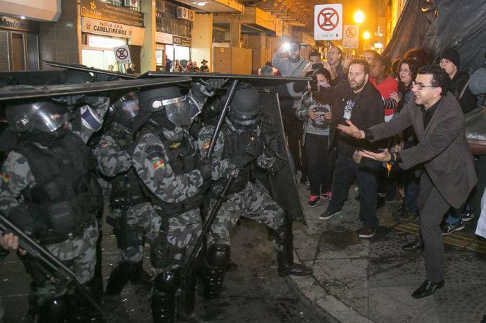 Ocupação Lanceiros Negros em Porto Alegre sofre despejo violento durante a noite