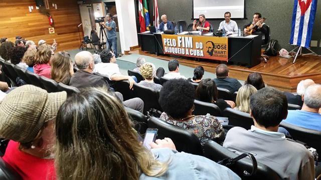 8a. Convenção Estadual de Solidariedade a Cuba homenageia Fidel e Che