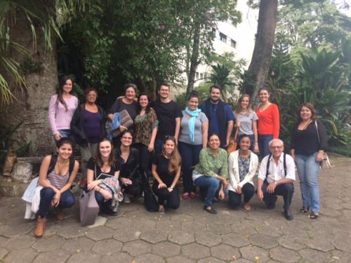 Coordenação compartilhada no Grupo de Apoio aos Imigrantes