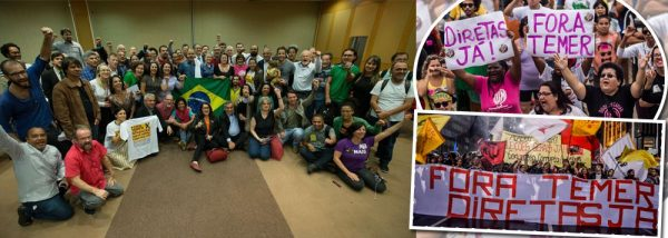 Criada a 'Frente Ampla Nacional em Defesa das Diretas Já'