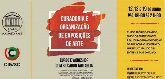 CIB realiza workshop de curadoria e organização de exposições de arte com Marchand Italiano