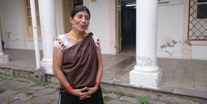 Primeira mulher indígena governadora no Equador
