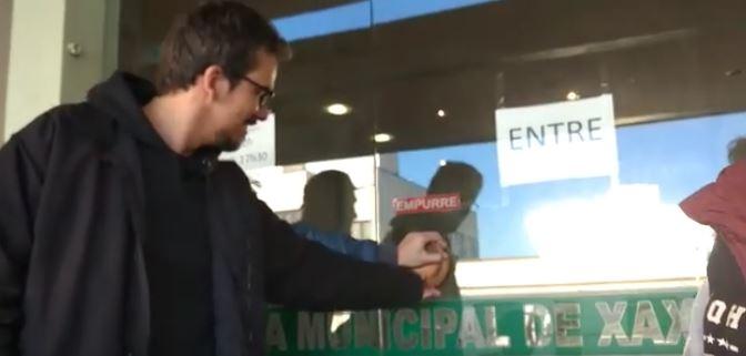 Terceiro dia de greve dos Servidores da Prefeitura de Xaxim