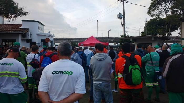 Acaba greve dos trabalhadores da Comcap