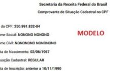 CPF permitirá o uso do nome social; veja como atualizar o documento