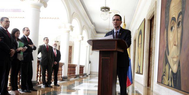 Venezuela repudia ameaças de Trump e pede às nações que defendam a paz e estabilidade na América Latina