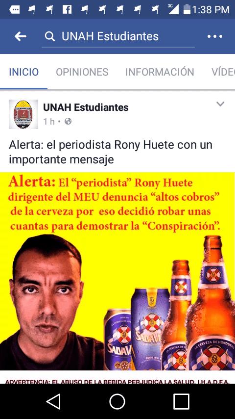 A poucos dias do julgamento, repórter de Desacato em Honduras é alvo de campanha difamatória