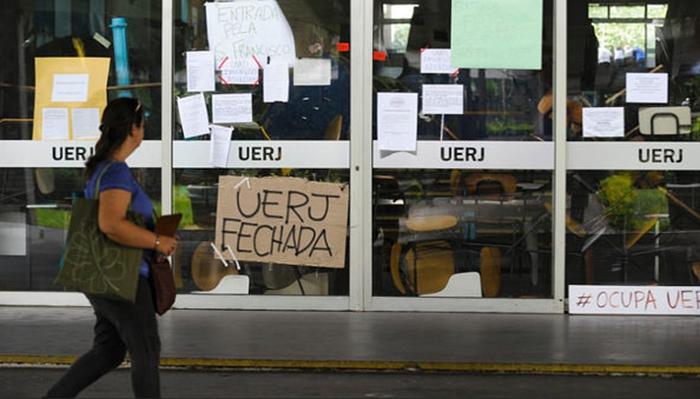 Uerj fecha as portas por tempo indeterminado