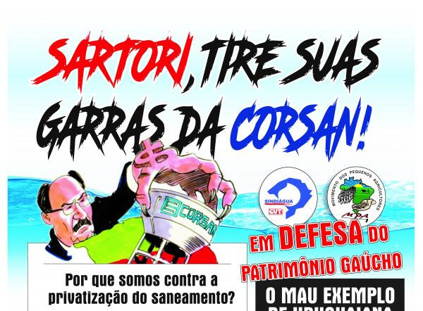 Hidronegócio: privatização da Eletrobrás, privatização das águas