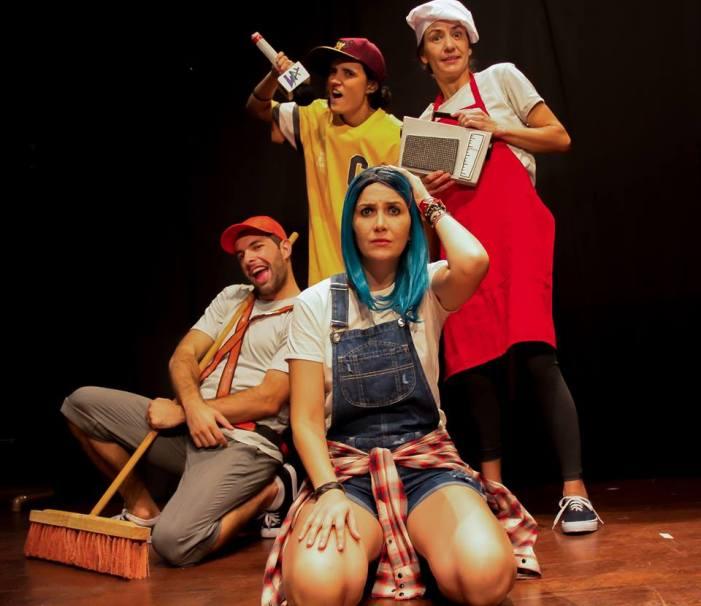 Grupo 'Teatrando Por Aí' estreia nova turnê em escolas públicas catarinenses