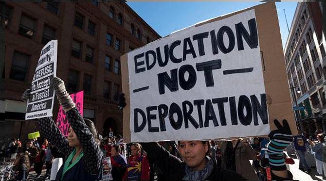 """Trump contra os """"sonhadores"""""""