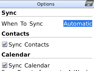 google sync blackberry 1 Google Sync synchronise maintenant les contacts de GMail