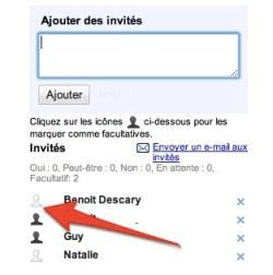 google agenda Des invitations facultatives sur Google Agenda