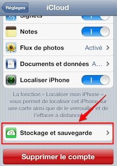 iphone ipad sauvegarde icloud 1 iPhone iPad: comment effectuer une sauvegarde manuelle de vos donnes