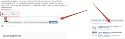 wordpress facebook plugin Facebook lance un excellent plugin Wordpress