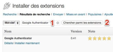 wordpress google authenticator1 Wordpress : ajoutez la validation en deux tapes  votre blogue [Scurit]