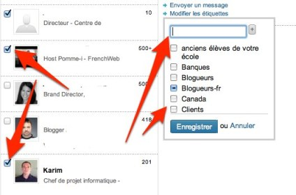linkedin ajouter etiquette plusieurs contacts Linkedin: comment utiliser les tiquettes pour grer vos relations