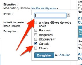 linkedin modifier etiquette contact Linkedin: comment utiliser les tiquettes pour grer vos relations