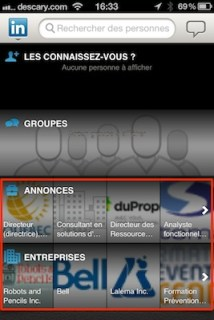 linkedin mobile Linkedin: mise à jour des applications iOS et Android