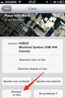 publier lieux facebook twitter ios iphone iPhone   iPad iOS 6 : dix astuces 