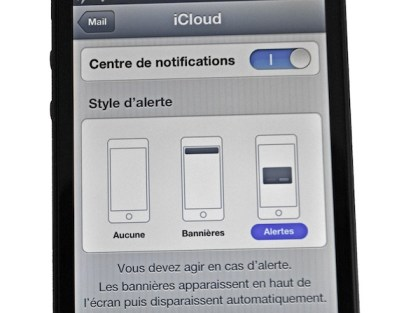 ios6 iphone ipad notification email mail iPhone   iPad ios6 : comment personnaliser les notifications de vos différents comptes mail