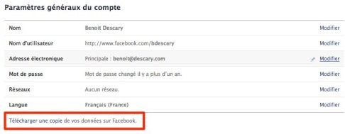 facebook sauvegarde profil Facebook: comment fusionner un profil  une Page dentreprise existante