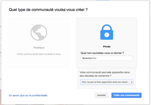 utileiser communautes google plus communaute bookmarks descary Google+ : utilisez une communaut prive comme systme de bookmarks