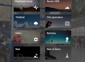 snapseed pour iphone et ipad