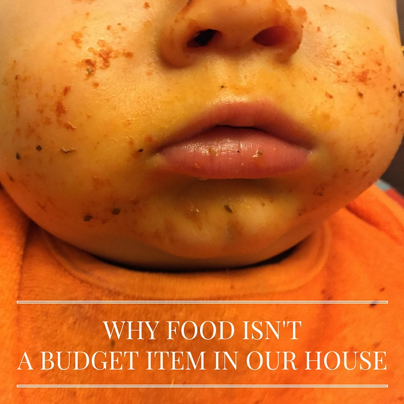WHY FOOD ISN'T A BUDGET ITEM IN OUR HOUSE