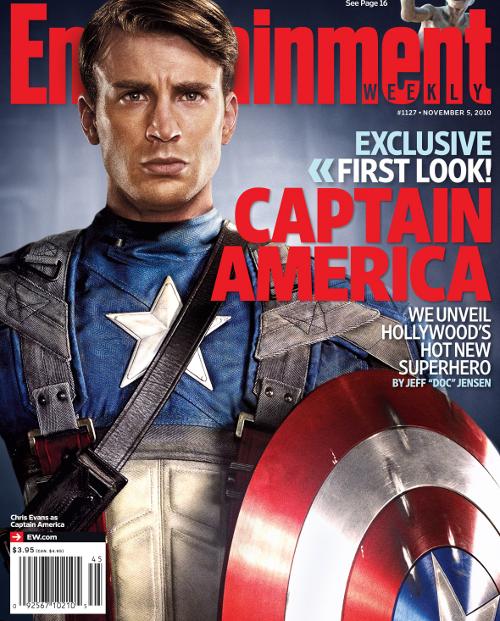 Tapa de el Capitan America
