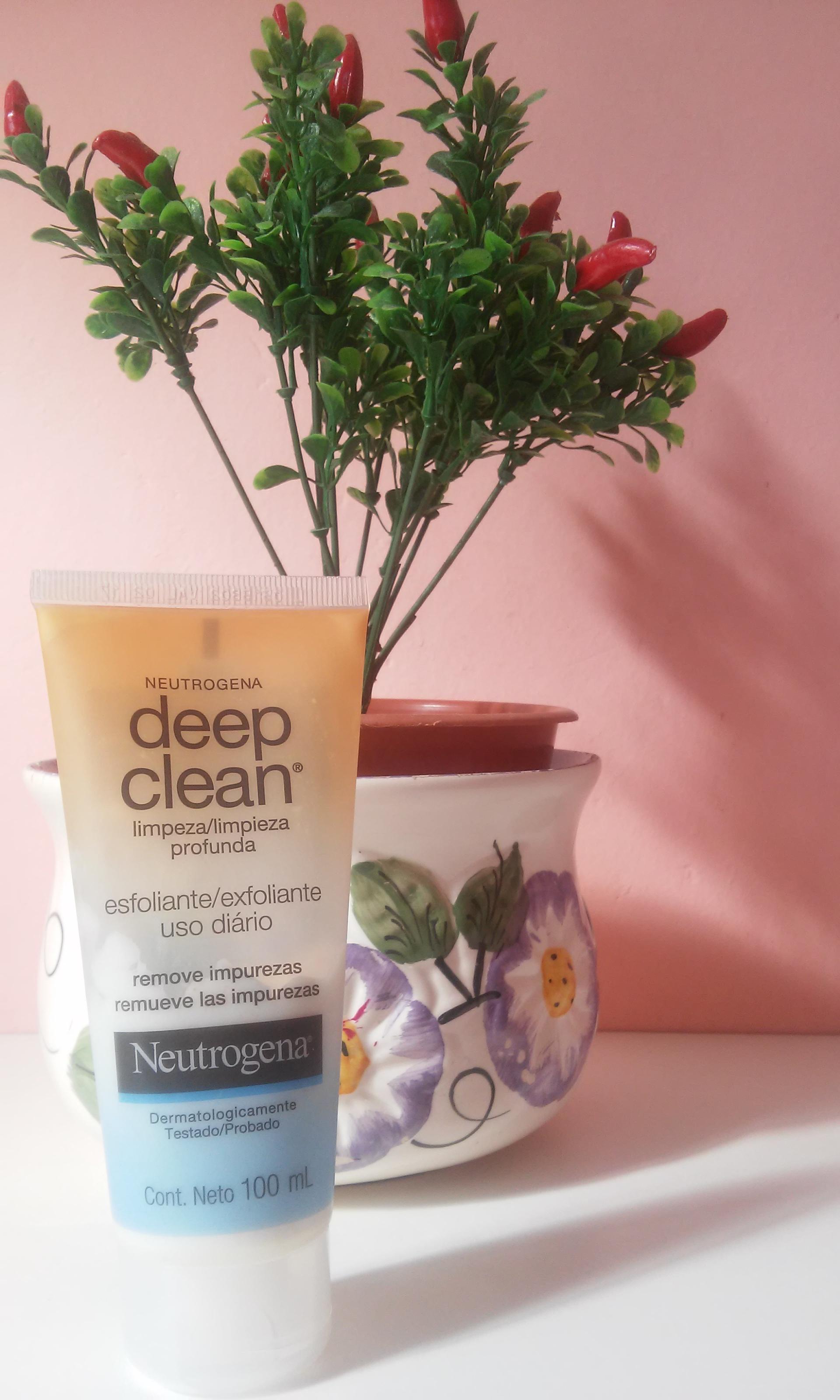 Resenha: Esfoliante Deep Clean Neutrogena