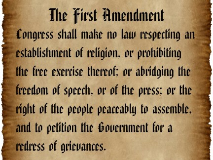 the-first-amendment-parchment