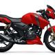 TVS Apache RTR 150 Red