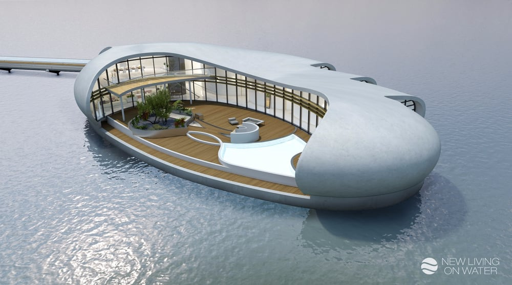 Dubais Latest Luxury Floating Homes Offer A New Level Of