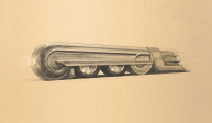 Streamline et Design industriel US des 50's