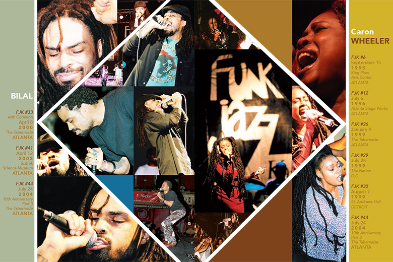 FunkJazz Kafé Featured Performers Spread
