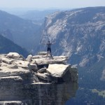 Overcoming Fear Of Heights Climbing Half Dome