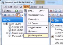 Autodesk Vault Professional 2012 ERP