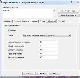 Autodesk Simulation Advanced Tab