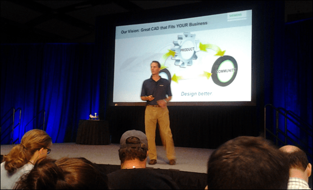Karsten Newbury at Solid Edge University 2013